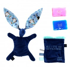 Velvet Collection - Thermo Bunny - Navy - Charlie Monkey