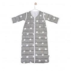 Śpiworek do spania z odpinanymi rękawami Miętowy Little star 0-6 msc