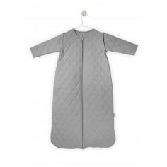 Śpiworek do spania z odpinanymi rękawami Mini waffle Jasny szary 18-36 msc