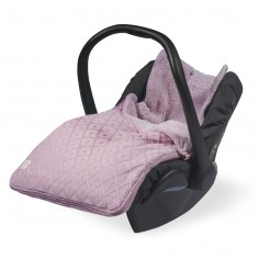 Śpiworek do fotelika samochodowego 0-12 Brudny Róż