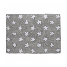 Dywan Grey Stars White