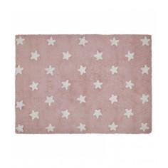 Dywan Pink Stars White