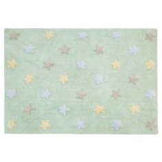 Dywan Tricolor Star Soft Mint