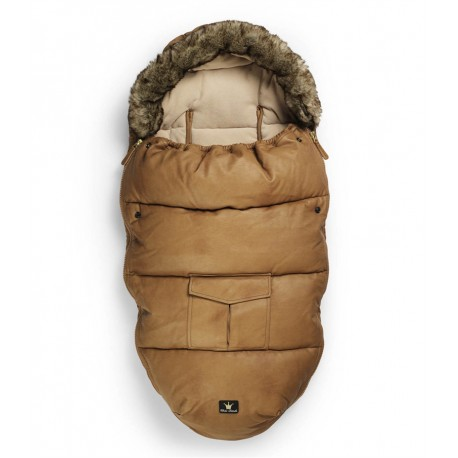 Śpiworek do wózka - Chestnut Leather