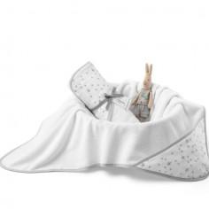 Ręcznik z kapturem MilkyWay White 0-4 lat