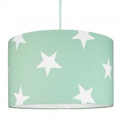 Lampa Sufitowa Gwiazdy na Miętowym