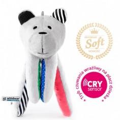 Whisbear SOFT - Szumiący Miś z funkcją CRYsensor (arbuz)