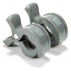 2 Pack Multitask Clips - Grey