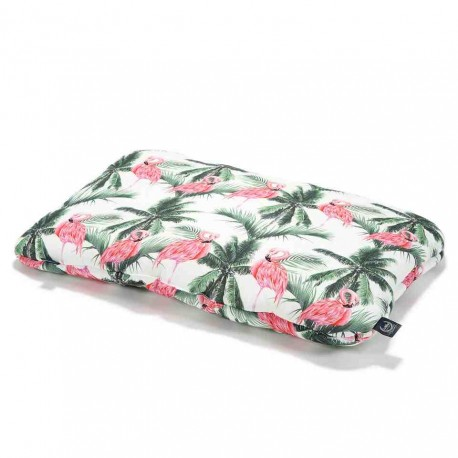 Bamboo Bed Pillow - 40x60cm - Peach Hawaiian Flowers