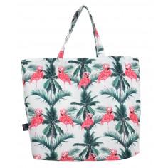 Shopper Bag - Aruba's Pink Flamingos