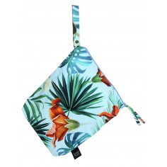 Travel Bag King Size - Blue Hawaiian Flowers