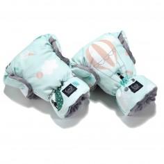 Mufka Premium Rękawice - Miss Cloudy - Grey