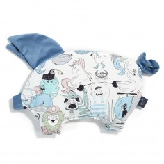 Velvet Collection - Podusia Sleepy Pig - La Millou Family Vol. II - Denim