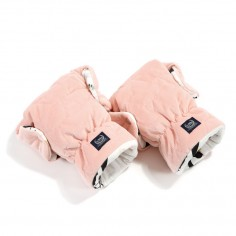 Velvet Collection - Mufka Rękawice Premium - Moonlight Swan - Powder Pink