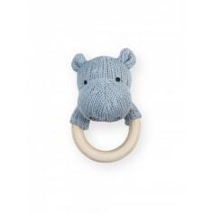 Gryzak Soft Knit Błękitny