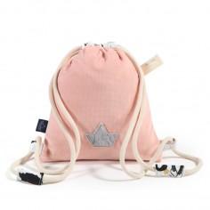 Velvet Collection - Plecak Double Pack - Powder Pink - Moonlight Swan