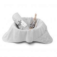 Ręcznik bawełniany z kapturem 90×90 Szary MilkyWay Grey
