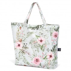 Shopper Bag - Wild Blossom Mint