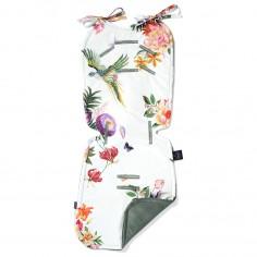 Velvet Collection - Thick Stroller Pad - Paradise - Khaki