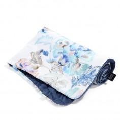 Velvet Collection - Narzutka Przedszkolaka Slim - Iris Sorbet - Harvard Blue
