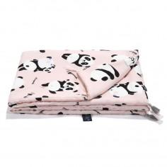 Bamboo Bedding Medium Size - Ilovepanda Pink