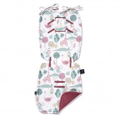Velvet Collection - Thick Stroller Pad - Savannah Ladies - Mulberry