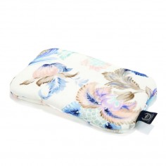 Baby Bamboo Pillow - Blue Pineapples