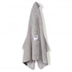 By Maja Bohosiewicz Ręcznik Bamboo Soft Kid - Grey - Unicorn Rainbow Knight