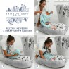 Ręcznik Bamboo Soft Newborn - Grey - Moonlight Swan