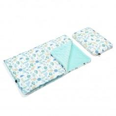 Velvet Collection - Kid Kit : Kocyk i Bed Pillow - Savannah Rangers - Audrey Mint