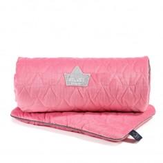 Velvet Collection - Set - Blanket & Mid Pillow - Florida Pink