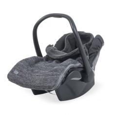 Śpiworek do fotelika / gondoli Natural Knit Szary 0-10 miesięcy