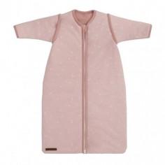 Śpiworek z odpinanymi rękawkami 90 cm Little stars Pink