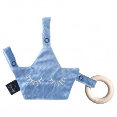 Velvet Collection - Pacifier Combo - Dove Blue