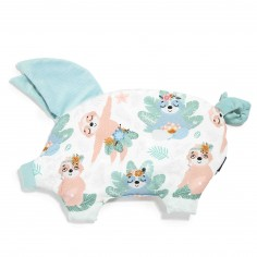 Velvet Collection - Podusia Sleepy Pig - Yoga Candy Sloths - Audrey Mint