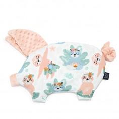 Podusia Sleepy Pig - Yoga Candy Sloths - Powder Pink
