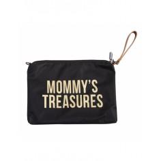 Torebko - Saszetka Mommy's Treasures Czarno - Złota