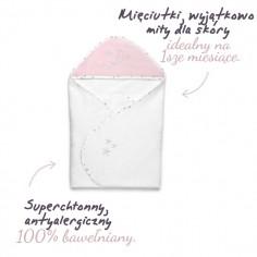 Ręcznik z kapturem MilkyWay Grey 0-4 lat