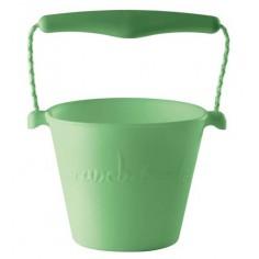 Składane wiaderko do wody i piasku Scrunch Bucket - Szary