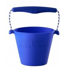 Składane wiaderko do wody i piasku Scrunch Bucket - Niebieski