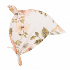 Bambusowa chustka z daszkiem kwiaty