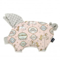 Podusia Sleepy Pig - Yoga Candy Sloths - Powder Pink