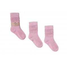 Podkolanówki dziecięce - Różowy Aniołek 0-1 lat
