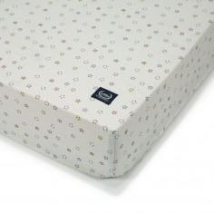 Prześcieradło Good Night 60x120 cm - Rainbow Confetti