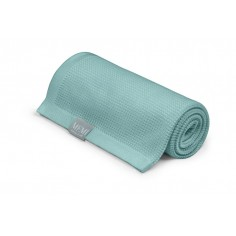 Lekki eukaliptusowy kocyk 80x100 dusty mint - eco collection