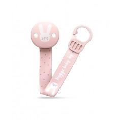 Zawieszka do smoczka - Pink&Grey