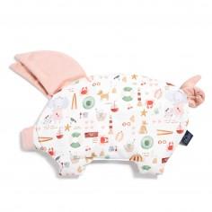 Velvet Collection - Podusia Sleepy Pig - French Riviera Girl - Powder Pink