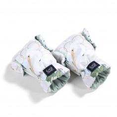 Aspen Winterproof Mufka Rękawice - Heron In Cream Lotus & Smoke Mint