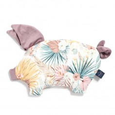 Velvet Collection - Podusia Sleepy Pig - Boho Palms Light - French Lavender