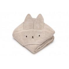 Bambusowy ręcznik beige króliczek